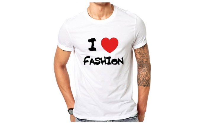 I Love Fashion T-shirt