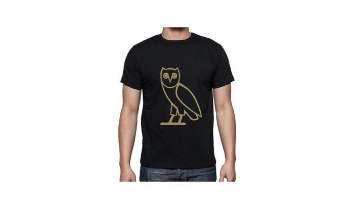 Men Owl Dizayn T-Shirt