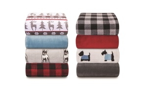Winter Nights Plush Blanket