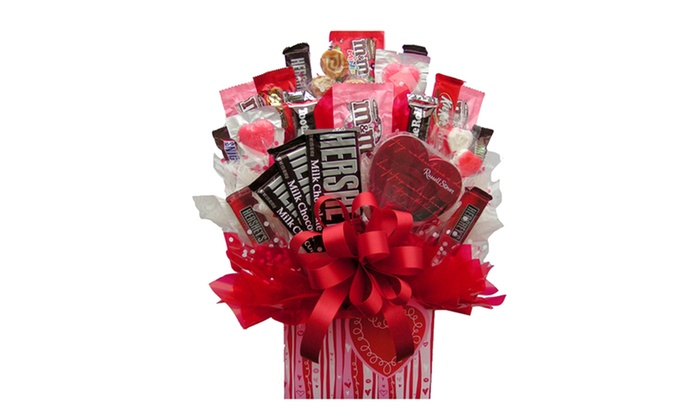 I ate my gift iamg sweetheart box candy bouquet large