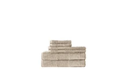 DREAM CASTLE 6-Piece Mosaic Towel Set