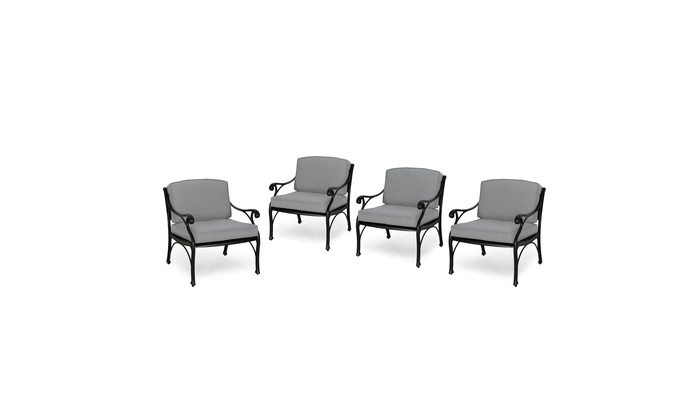 Etonnant Sunshine Outdoor Club Chairs With Water Resistant Cushions