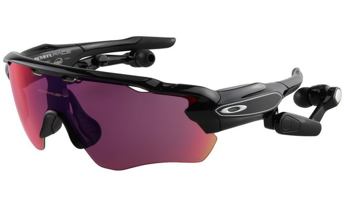 a2b9cf7dcd Oakley Radar Pace Sunglasses OO9333-01 Prizm Road Clear Lens Bluetooth  Trainer Black UV yes O Matter Prizm Road   Clear