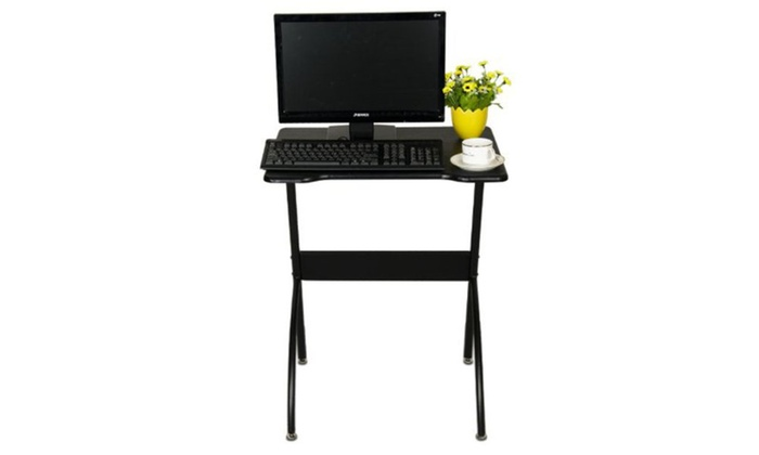 Up To 68 Off On Furinno Besi Black Computer Desk
