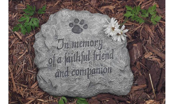 Pet memorial garden stone groupon pet memorial garden stone pet memorial garden stone workwithnaturefo