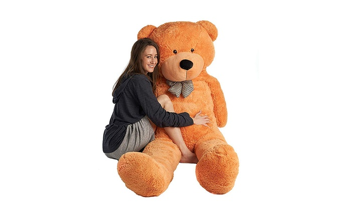 39b7ee097c1f Up To 36% Off on 4ft Giant Plush Teddy Bear | Groupon Goods