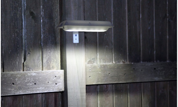 Up To 71 Off On Nitebrite Solar Fence Lights Groupon Goods