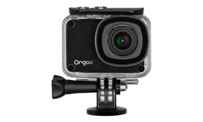 Orgoo OC1/BLK Swift 4K Action Camera Bundle | Groupon