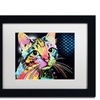 Dean Russo 'Catillac New' Matted Black Framed Art