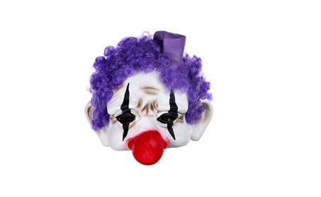 Creepy Scary or Funny Clown Latex Mask d79ba40d-4945-455e-80ab-328add1a2405
