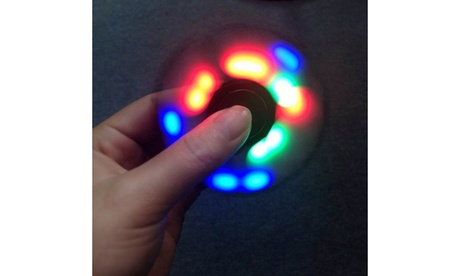 Trendy Light-Up Fidget Spinner- Anti Anxiety/Stress/ADHD Reliever 88213256-a2c9-416c-ad76-02735dfe6ec4