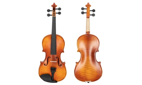 4/4 Violin with Case Accessories for Beginners with Case and Accessories