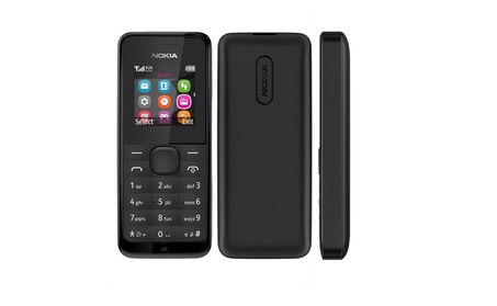 Nokia 105 RM-1135 Dual-Band Factory Unlocked Mobile Phone Black, New d8b6c316-bb3c-4907-91c9-aa0496cefb0e
