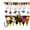 Halloween Party Decoration Triangle Banner Flag