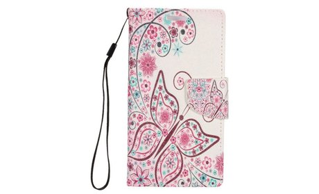 Fashion Design Leather Wallet Card Holder Flip Case For Samsung...