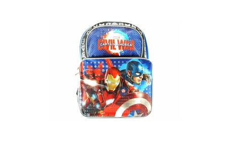 "Marvel Captain America Civil War 16"" Backpack 8d395858-587d-460f-8c8d-7be31ee1a9e1"