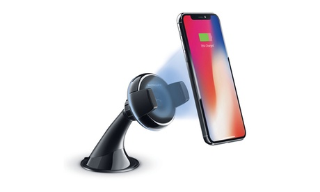 Merkury Innovations POWER MOUNT 5W Wireless Charger Smartphone Car Mount b64b5f25-c422-4a17-b453-1845184cd267