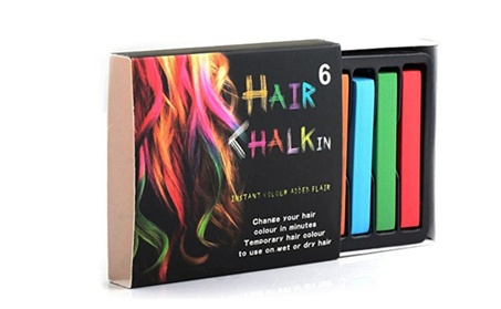 1st Shop Top Unisex Non-Toxic Rainbow Chalk Temporary Hair Color 9e541ce4-6678-48ce-8efb-aa1f714ff998