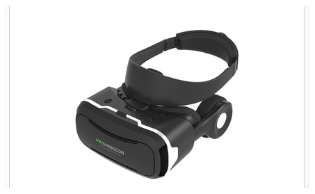 VR Shinecon 4th Generation 3D VR Headset with Stereo Headphone 4c1fb43a-84e2-4539-a816-2cea9c650065