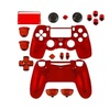 Game Bully Repair Part Full Housing Shell For Sony Ps4 Controller Red