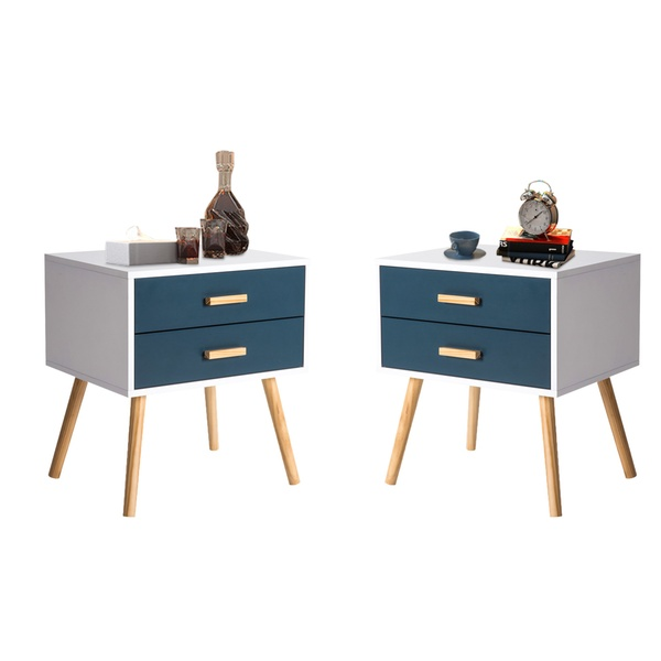 Up To 44 Off On Kinbor Bedside Table Nightsta Groupon Goods