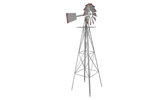 8u0027 Windmill Ornamental Garden Weather Vane Weather