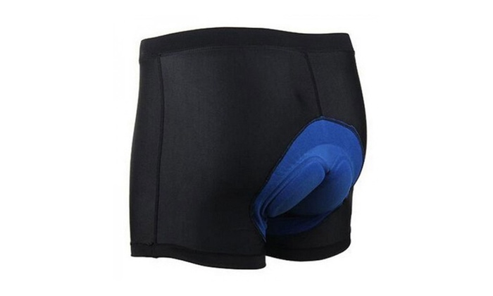 Cycling Men's 3D Sponge Silicone Padded Bicycle Underwear Shorts