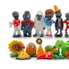 16pcs Plant & Zombie Series 1 Anime Figure Toys Generation1 Model Toys