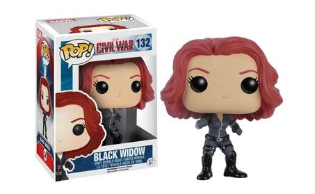 Funko POP Marvel Captain America Civil War Black Widow Vinyl Figure a52af582-70e5-4412-aa3d-0a4f17c50d6e