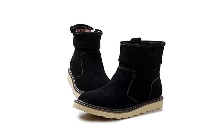 E.a@market Men's New Snow Boots Autumn Winter Leisure Outdoor