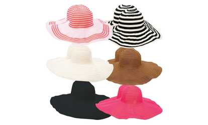 ab8f9171100 Shop Groupon ASSORT LADIES FLOPPY SUN HATS