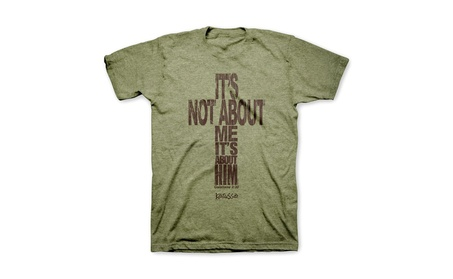 It's Not About Me Galations 2:20 Kerusso Christian Message Adult Tee 98953d48-b6dc-4543-8efa-baf8879bc910