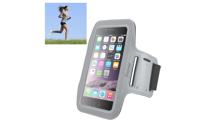 Insten Sports Workout Exercise Gym Armband For iPhone 6 Plus/6S Plus