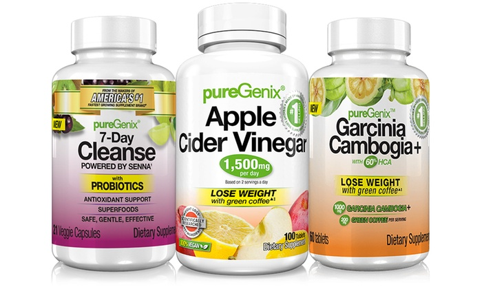 Puregenix Apple Cider Vinegar Garcinia Cleanse Weight Loss