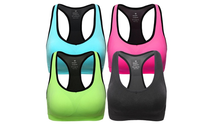 High Impact Workout Gym Activewear Bra