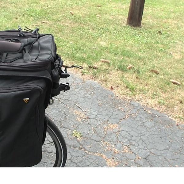 Topeak MTS TrunkBag DXP Strap Mounted Rear Rack Bike Bag