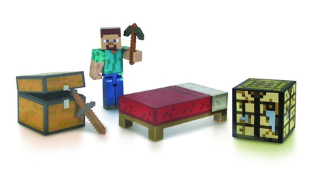 Minecraft Core Player Survival Pack Action Figure ec664854-ed08-4350-a89e-bdda0441b0b1