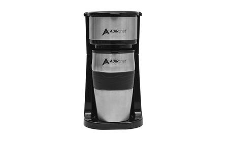 AdirChef Grab N' Go Personal Coffee Maker with 15 oz. Travel Mug 1f8f09fd-f686-42af-9762-306c3de15d13