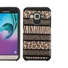 Insten Zebra Hard Hybrid Coated Silicone Case For Galaxy J3 2016 Brown