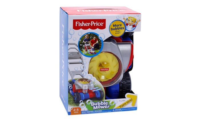 Fisher Price Bubble Mower Cgm02 Groupon