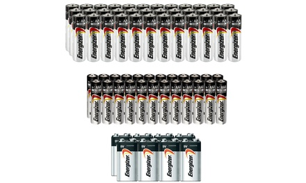 Energizer Battery Bundle AA, AAA and 9V (68-Pack)