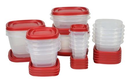 Rubbermaid 1777169 Food Storage Container Set, 40 Piece, Square a4679a4e-b33d-4b95-af13-f7e5105c336c