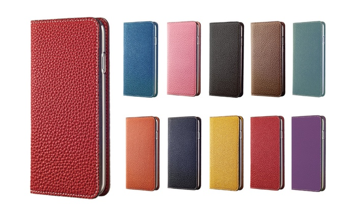 sale retailer a1d41 ddb95 iPhone 6S Plus/6 Plus Case BONAVENTURA, Genuine Leather Wallet Case ...