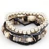 Bohemian Style Multilayer Beaded Stretchy Bracelet Women's Jewelry