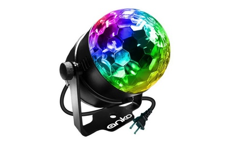Mini LED Stage Magic Light ANKO 7 Color Changes Sound Active RGB Light d2a2812d-dc2d-4b5b-8c76-dae07031eaba