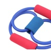 Lightweight Yoga Pilates Abs Exercise Stretch Fitness Tube Workout