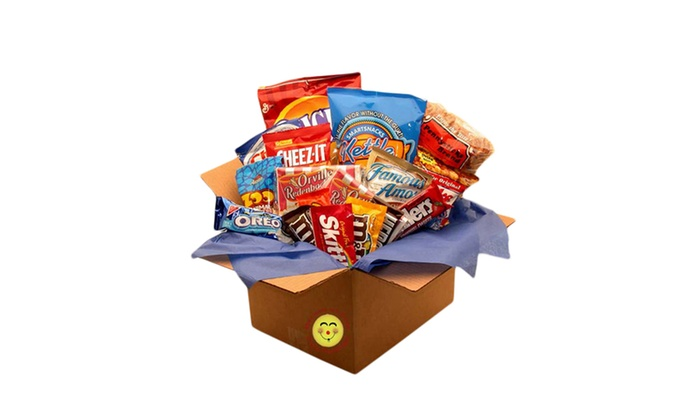 ... Gift Basket Dropshipping Snackdown Deluxe Snacks Care Package