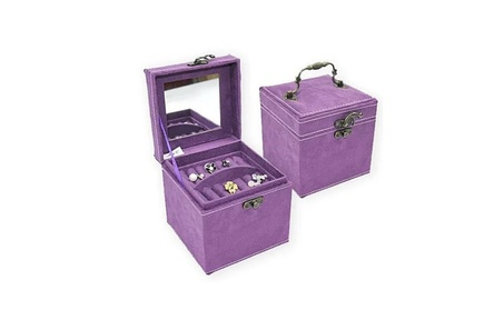 Soft Velour Ornate Jewel Box In Luscious Colors 2e454e98-ea93-429d-9b2d-5e9f6cb84092