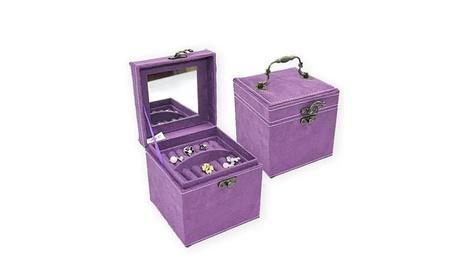 Soft Velour Ornate Jewel Box In Luscious Colors 2e454e98-ea93-429d-9b2d-5e9f6cb84092
