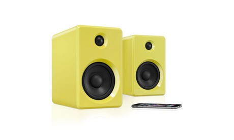 Innovative Technology Rechargeable Bluetooth Wireless 50 watt Bookshelf Speakers (Goods Electronics Portable Audio) photo